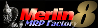 Merlin MRP Factory 8 logo